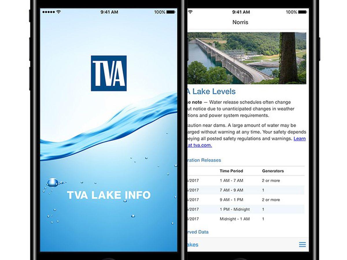 TVA Lake Info App can help fishermen's success during summer