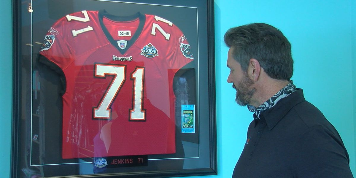Kerry Jenkins reflects back on winning 2003 Super Bowl with Tampa Bay Bucs