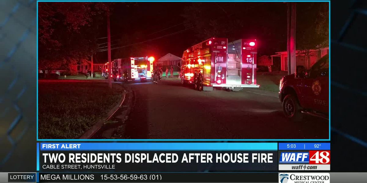 Woman in critical condition following Huntsville house fire