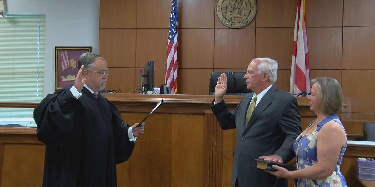 General Willie Nance Jr. sworn in as new Jackson County Commission Chairman