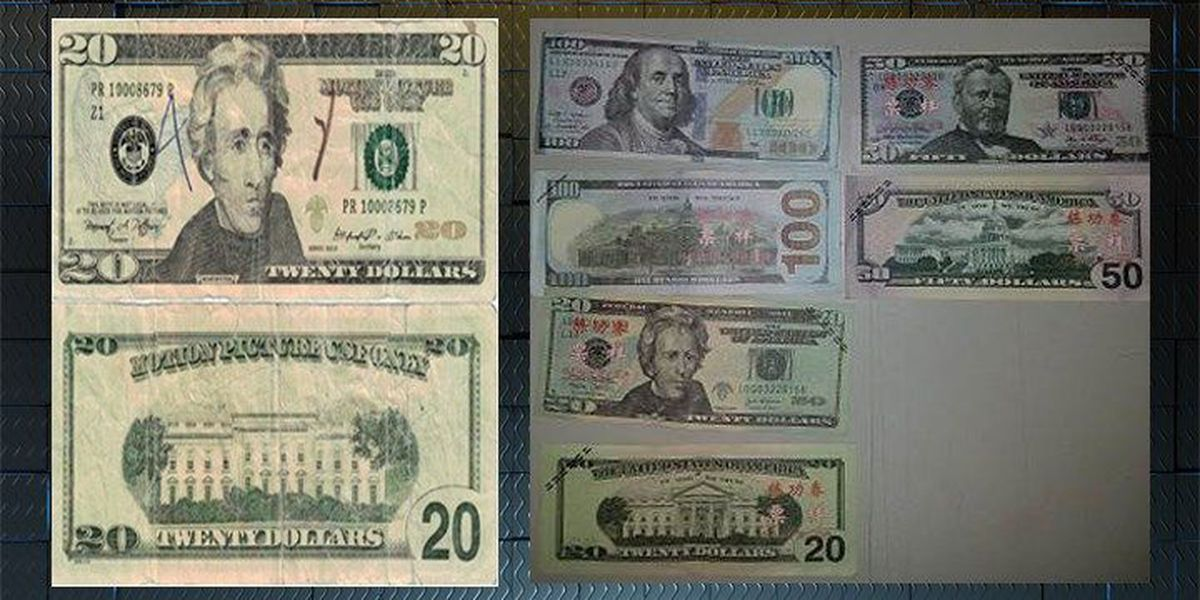 Huntsville police warn about 'movie money' counterfeit bills