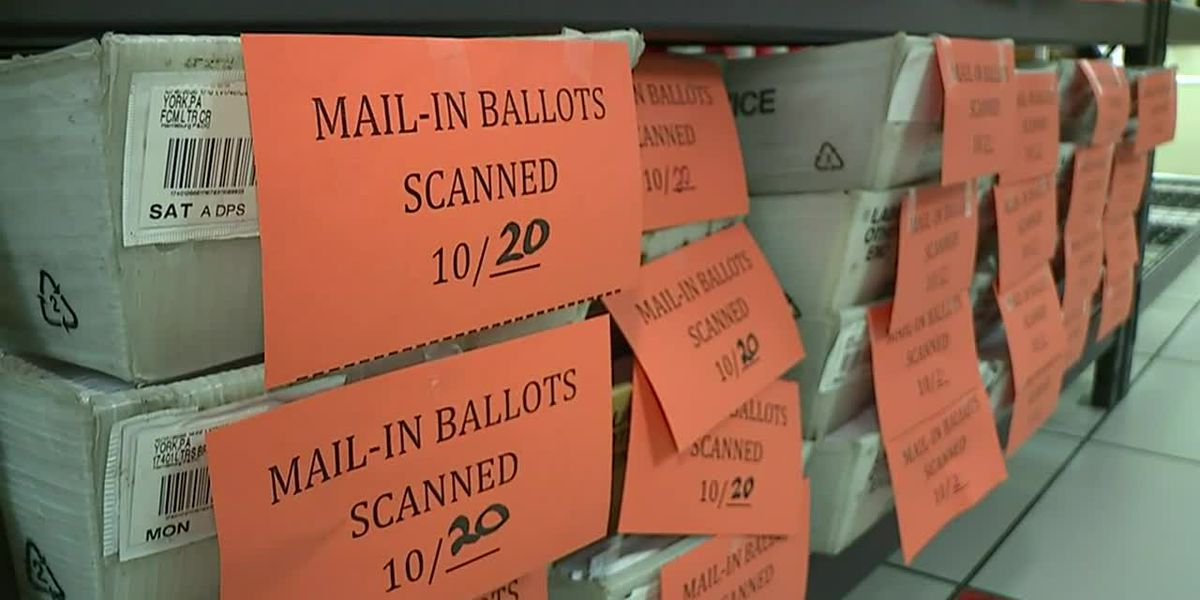 A look inside a Pennsylvania ballot storage facility