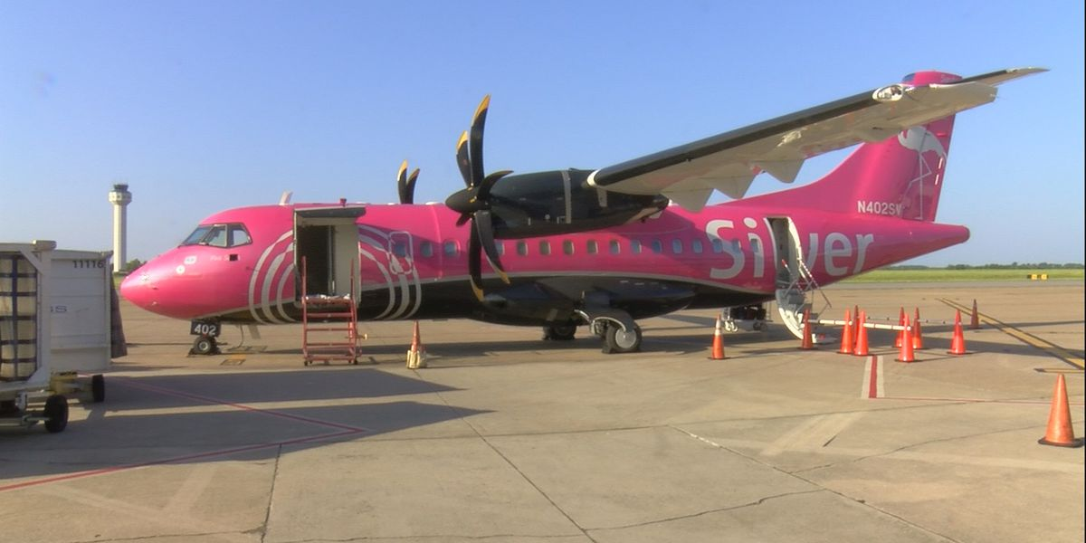 Silver Airways unveils new plane at Huntsville International Airport