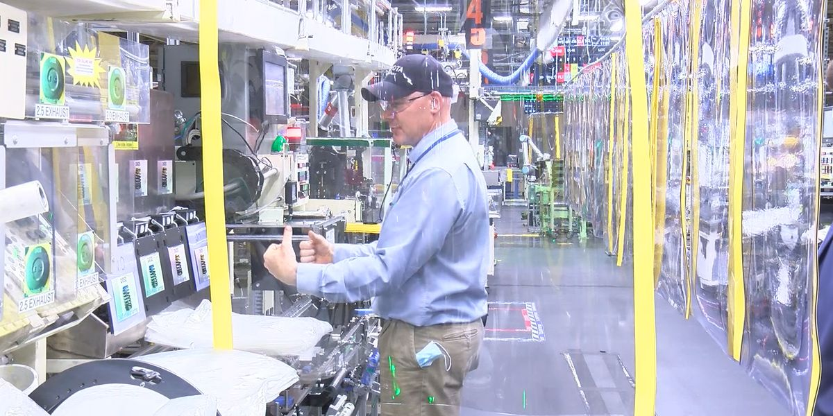 2 milestones move Huntsville Toyota plant closer to increased engine production