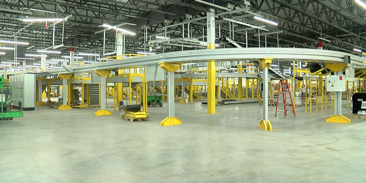 Amazon robotic fulfillment center bringing 1,500 jobs to Bessemer
