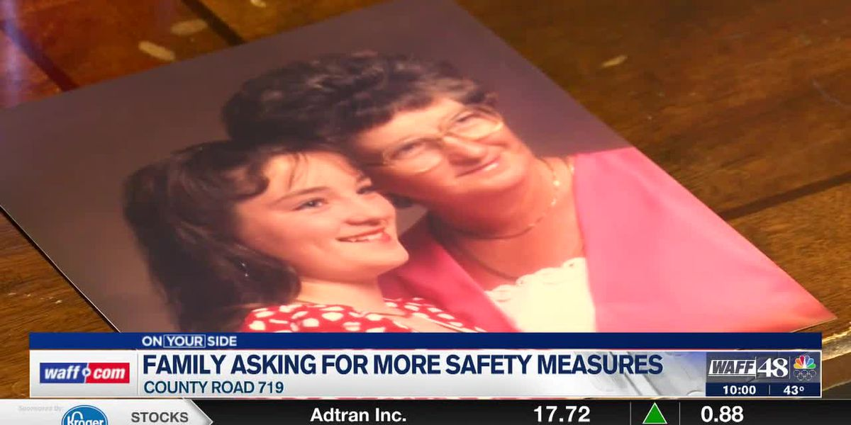 Cullman County family asking for more safety precautions after mother dies in car crash