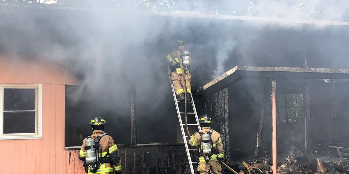 Scottsboro house fire creates challenge for crews Saturday afternoon