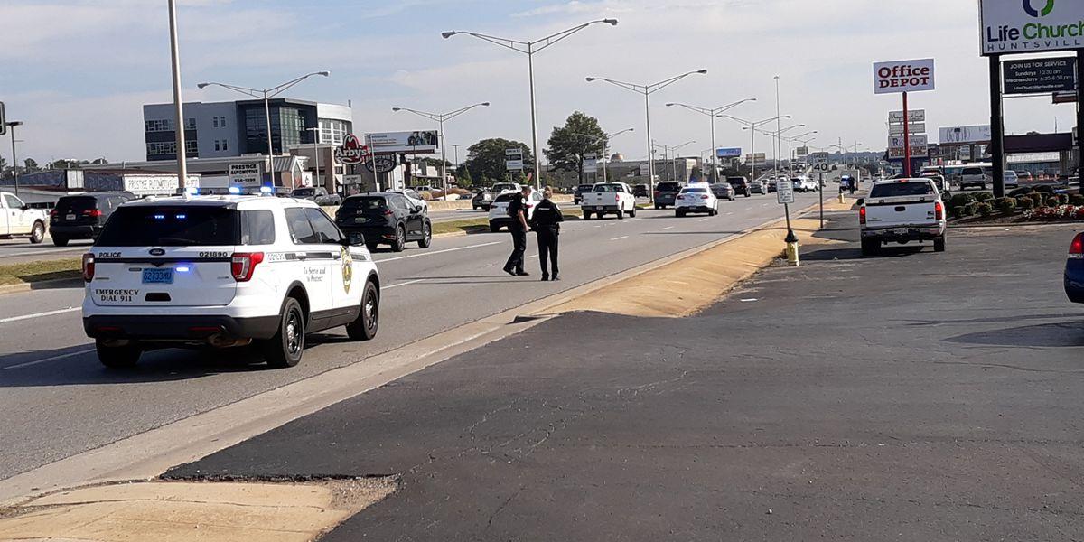 Shooting investigation underway in Huntsville