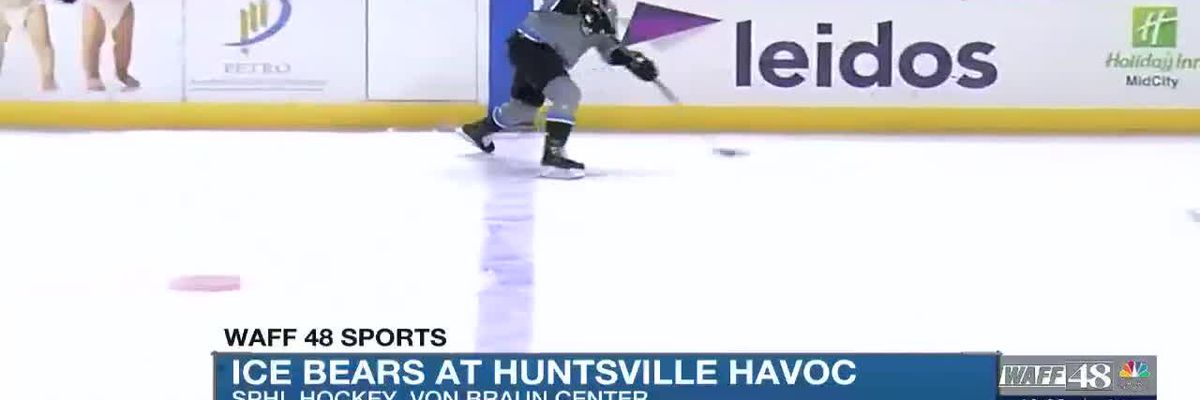 Ice Bears at Huntsville Havoc, The Masters continue this weekend and more