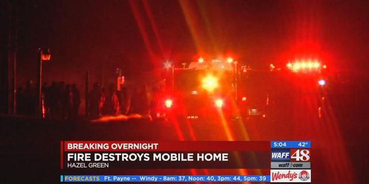 Morning Headlines: 1 injured in Hazel Green mobile home fire