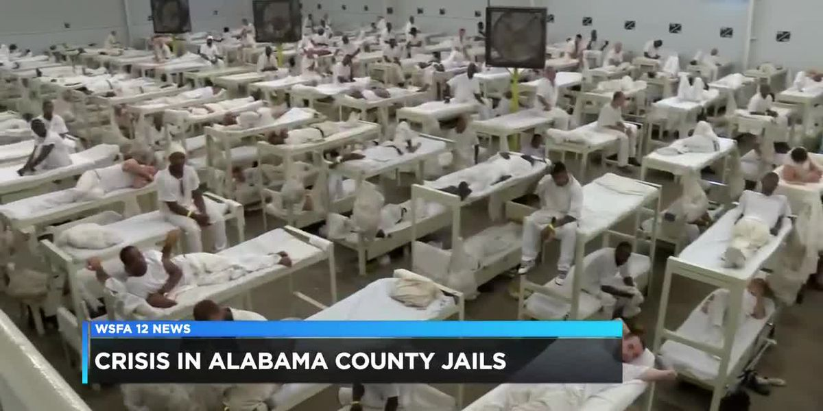 Populations in county jails rising