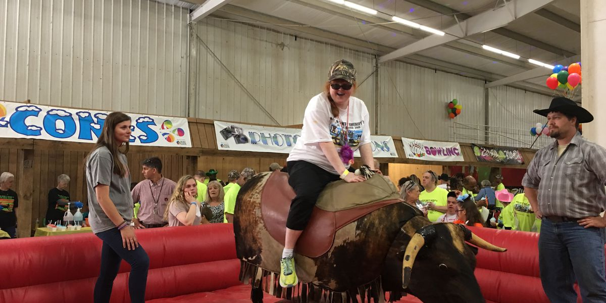 Sheriff's office hosts annual special needs rodeo for Morgan County kids and adults