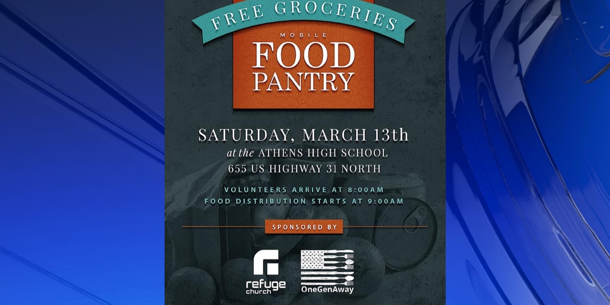 Refuge Church, One Gen Away to distribute 40,000 pounds of free groceries at Athens High