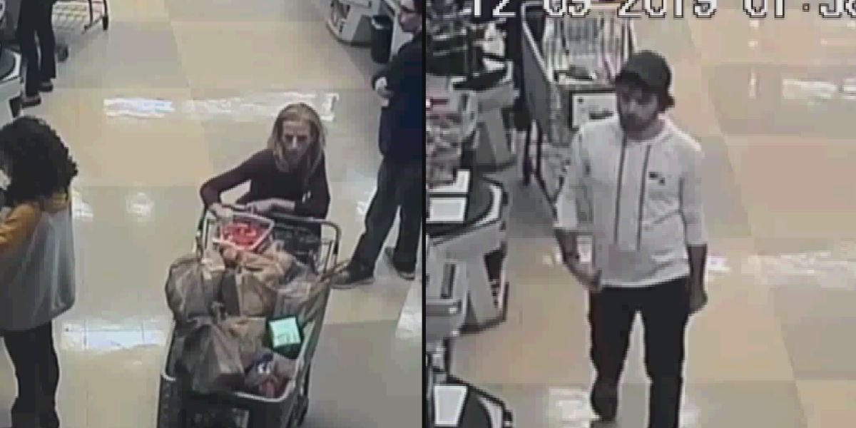 Crime Stoppers: Duo flees Huntsville store with loaded shopping cart