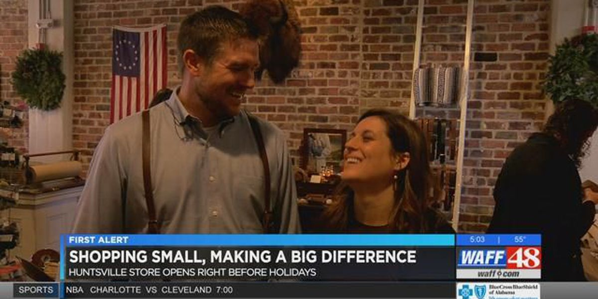 Huntsville store opens in time for #SmallBusinessSaturday