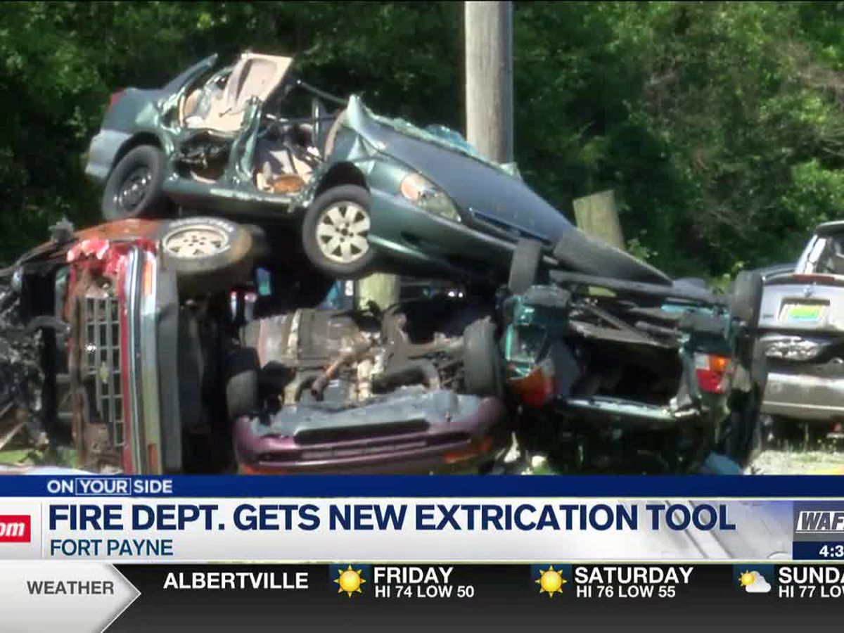 Fort Payne Fire Department gets new tool to help save drivers from entrapment