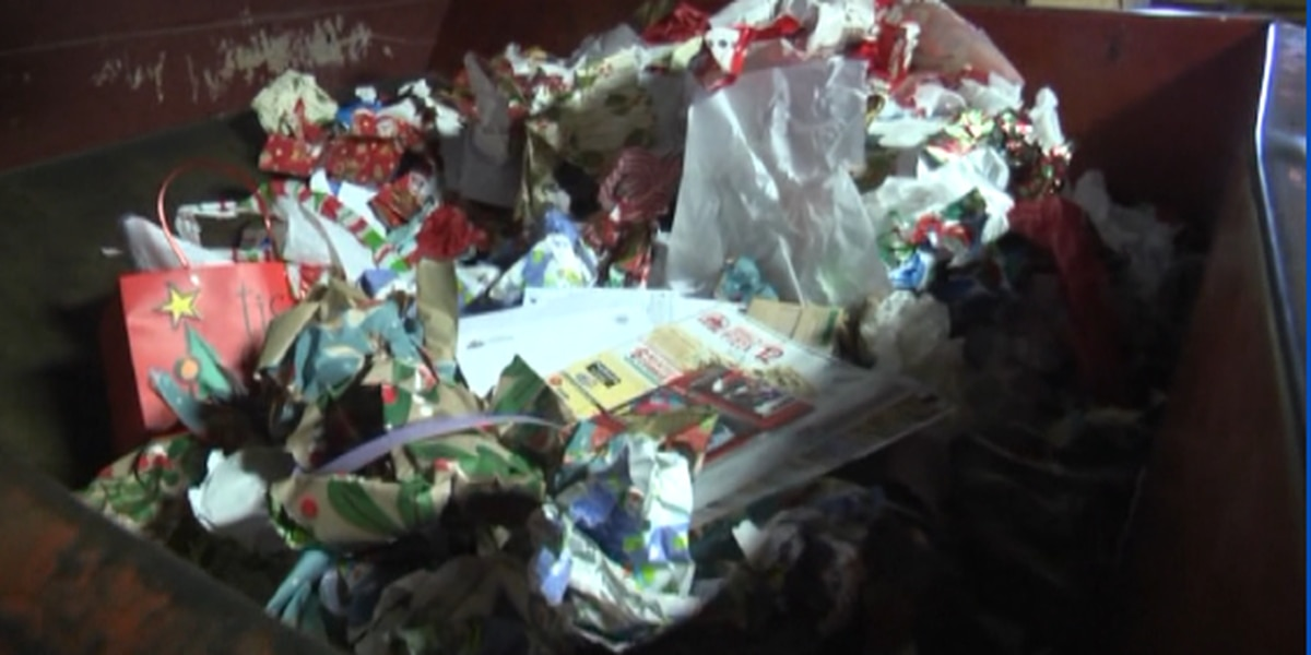 Wrapping paper: What can and can't be recycled