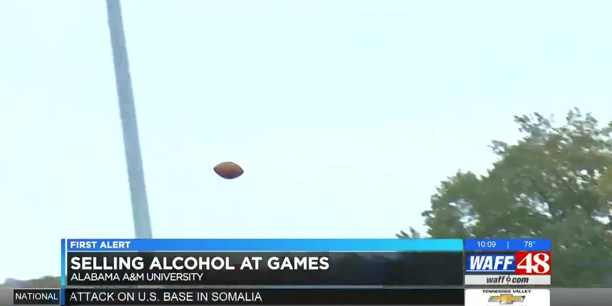 Alcohol sales coming to Alabama A&M home games