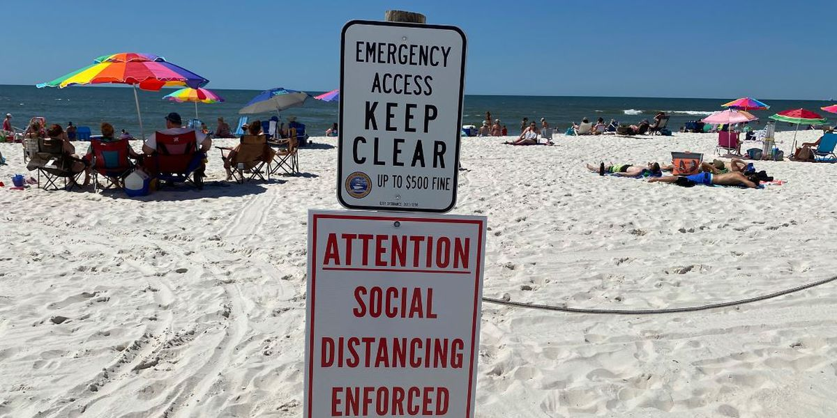 Memorial Day expected to bring large crowds to Alabama beaches
