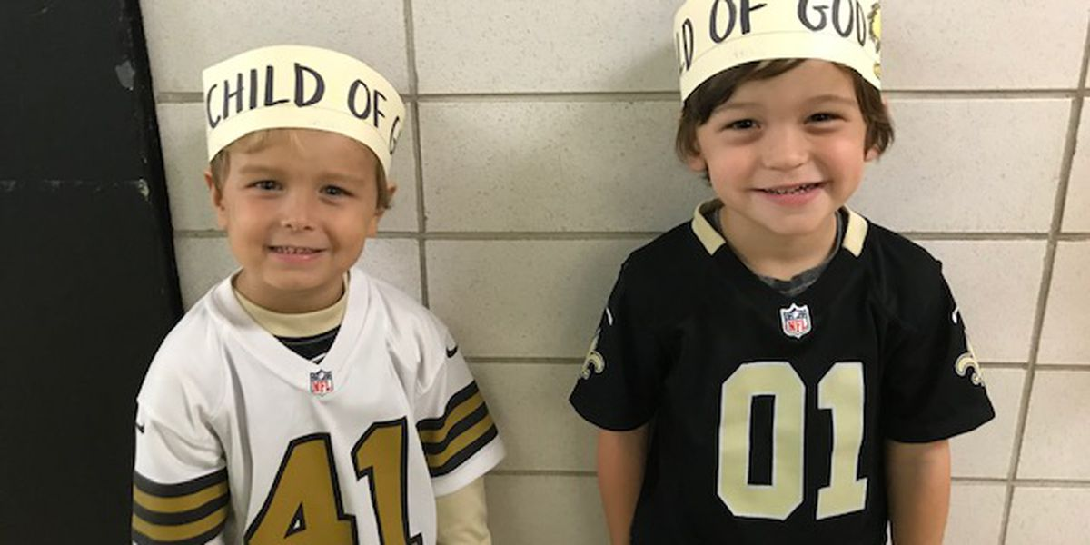 Saints linebacker won't have to pay fine; school shows support with 'Child of God' headbands