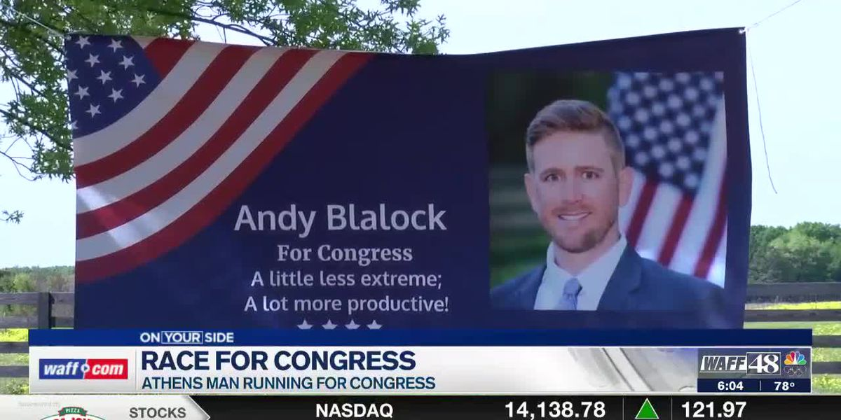 Athens man in the running for Mo Brooks' Congress seat