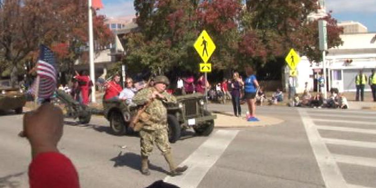 FIRST ALERT: Veterans Day Parade to affect afternoon traffic; Pleasant weather in the forecast for parade