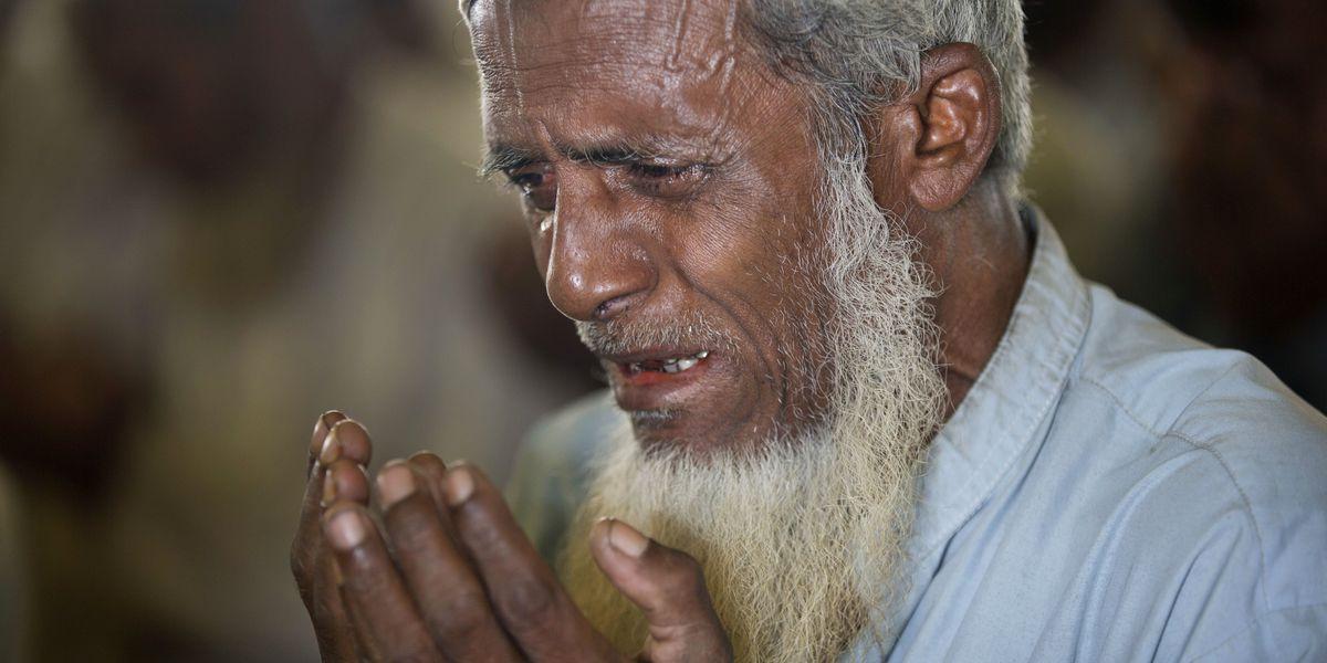 Rohingya refugee camp quiet after Bangladesh delays return