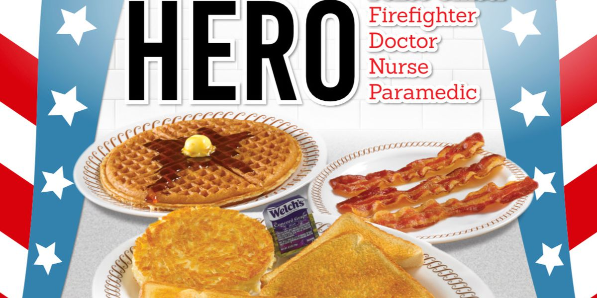 """""""Adopt a Meal for Heroes"""" at Waffle House"""