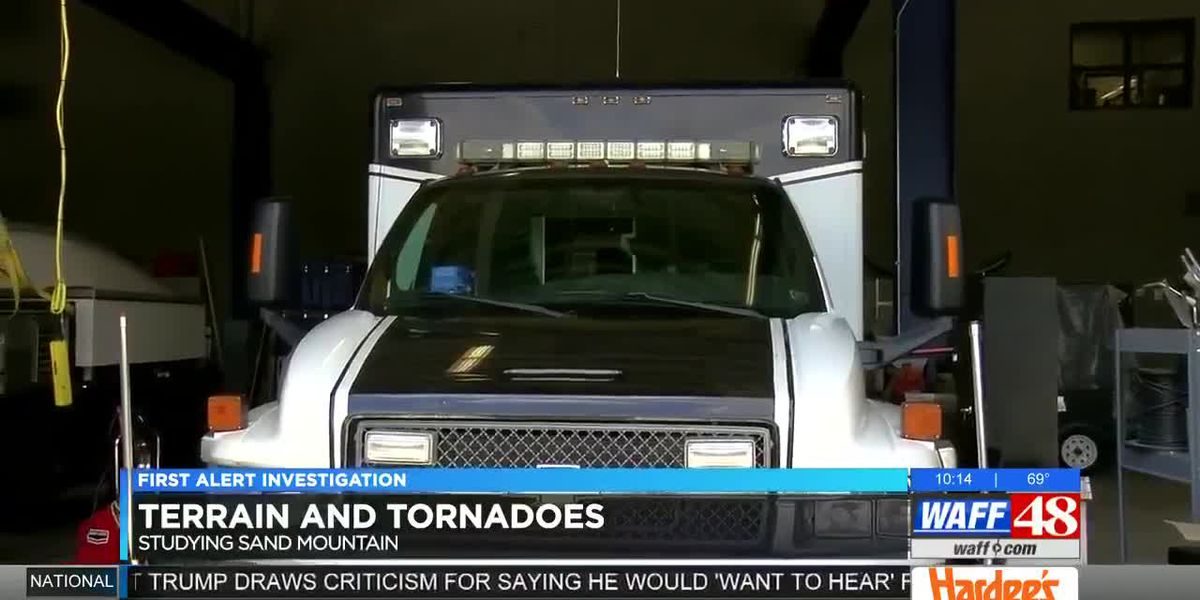First Alert Weather Investigation: Terrain and tornadoes studying Sand Mountain