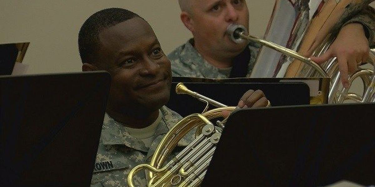 Army Materiel Command band preps for final concert