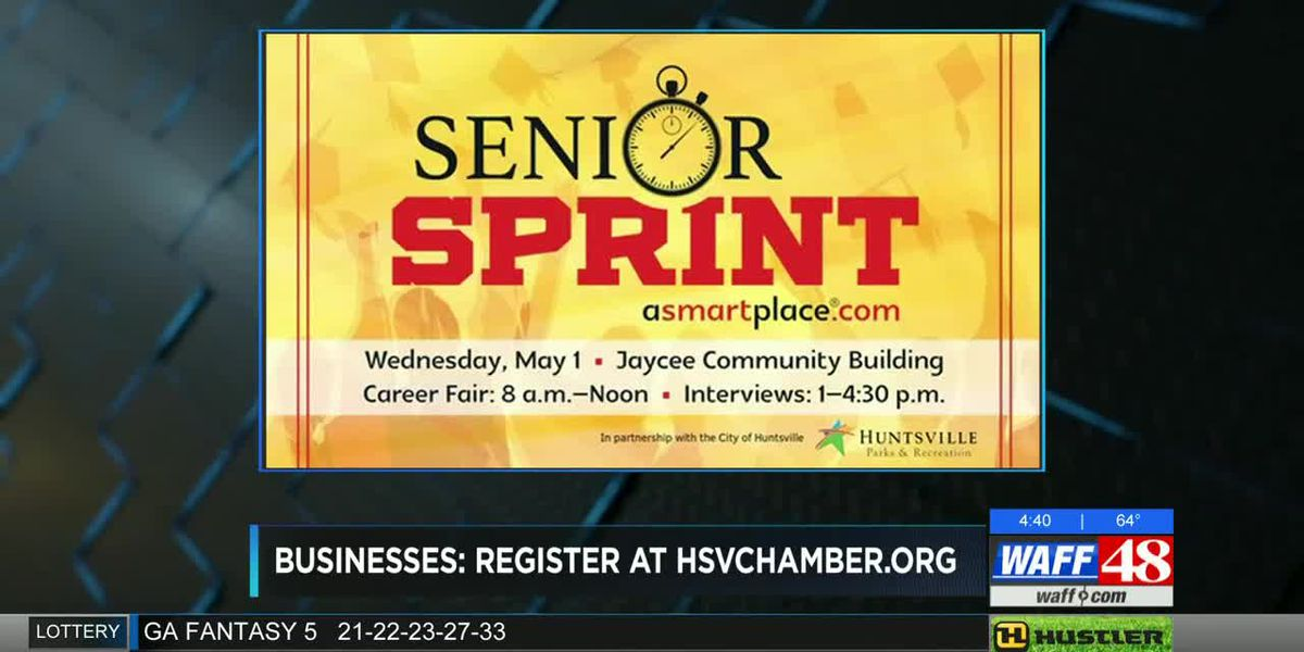 Volunteers needed for Huntsville Senior Sprint Career Fair