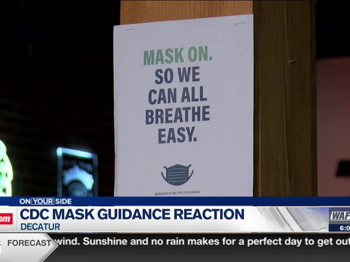 Local doctor reacts to CDC loosening up masking guidelines