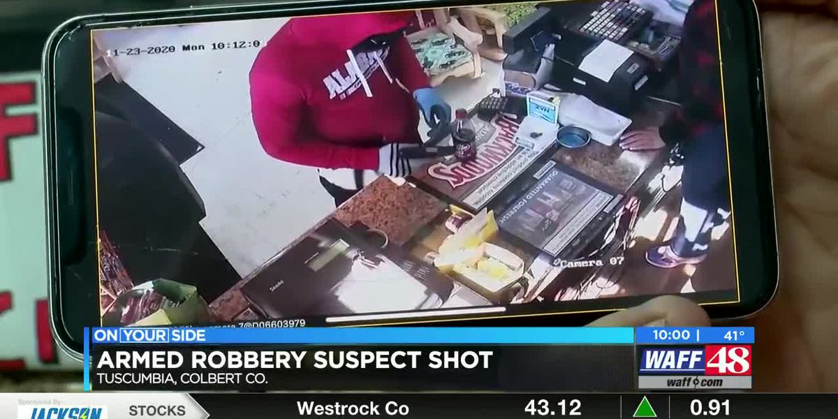 Man accused of armed robbery at Tuscumbia gas station identified