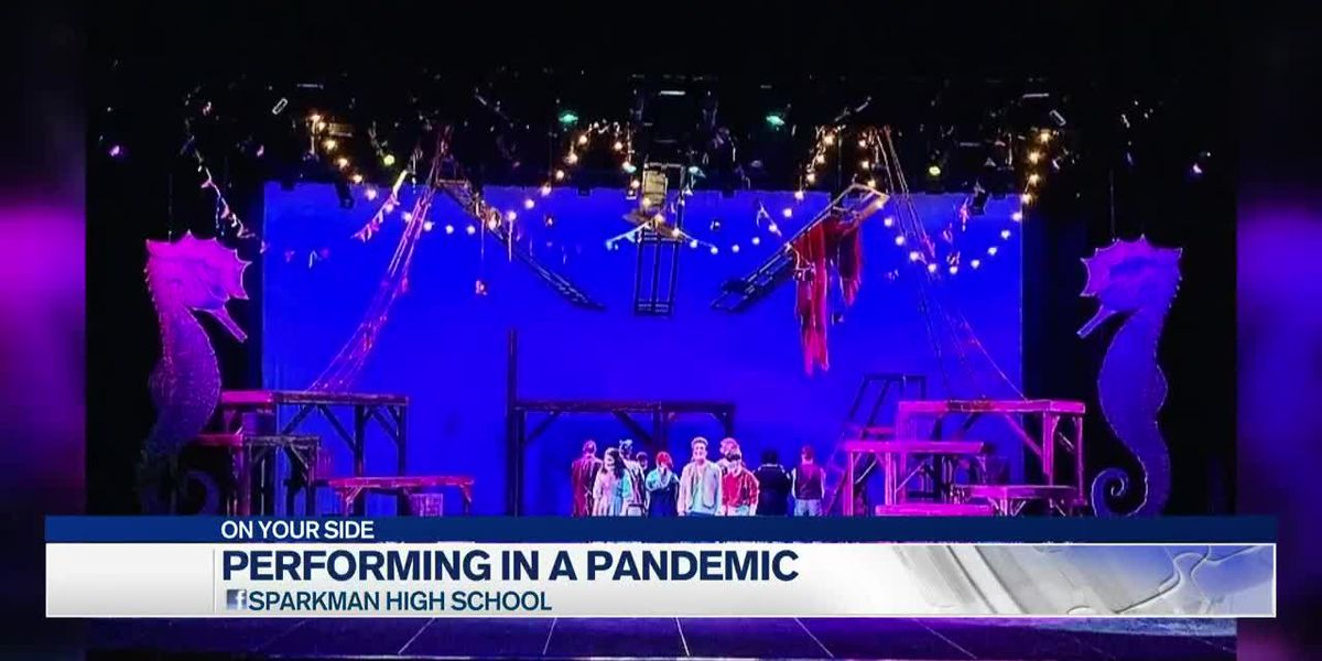 Sparkman High School performs Peter and the Star Catcher - in the pandemic