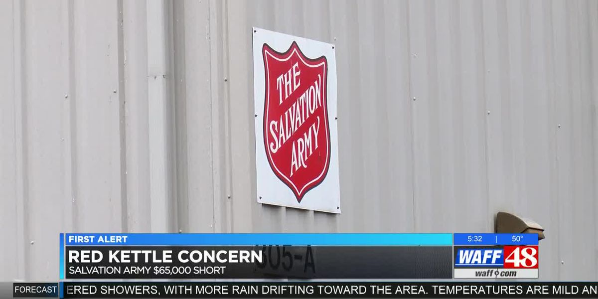 'Red Kettle Concern': Salvation Army in North Alabama in need of help