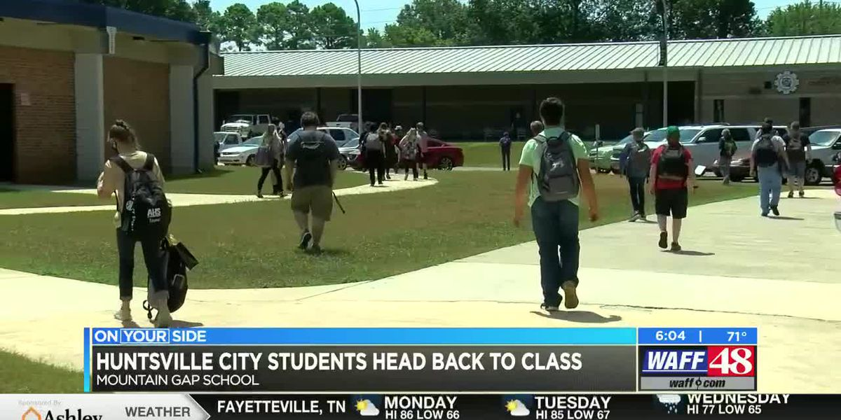 Huntsville City Schools reopen doors to students