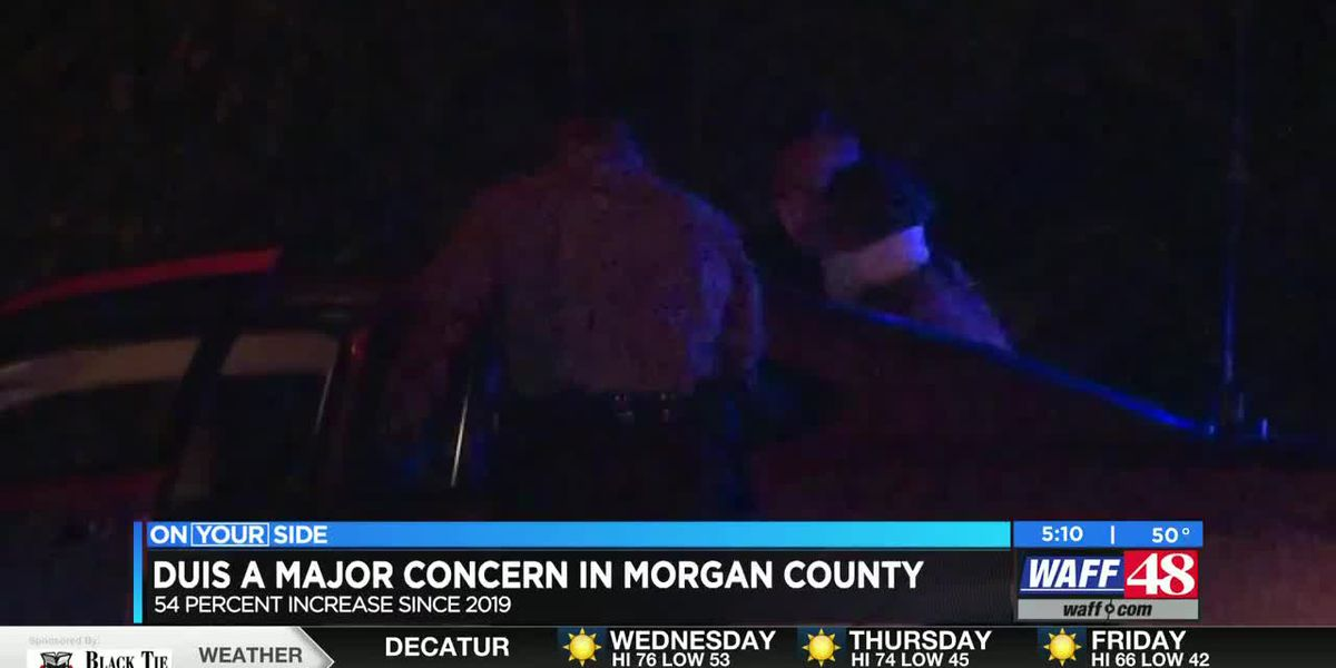 Morgan County sees 54 percent increase in DUIs since 2019