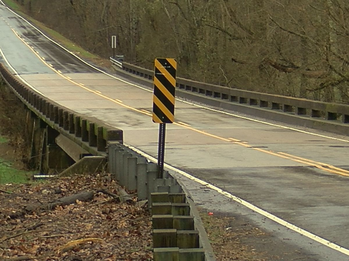 Madison County flooding and bridge construction