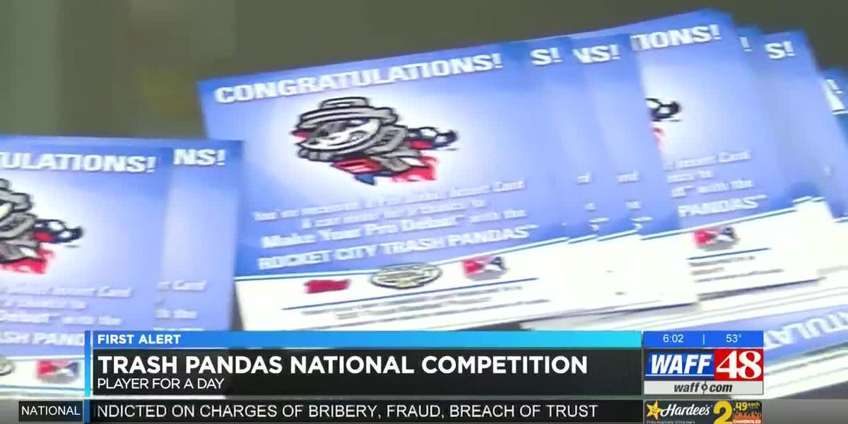 National competition lets winner be honorary Trash Pandas player
