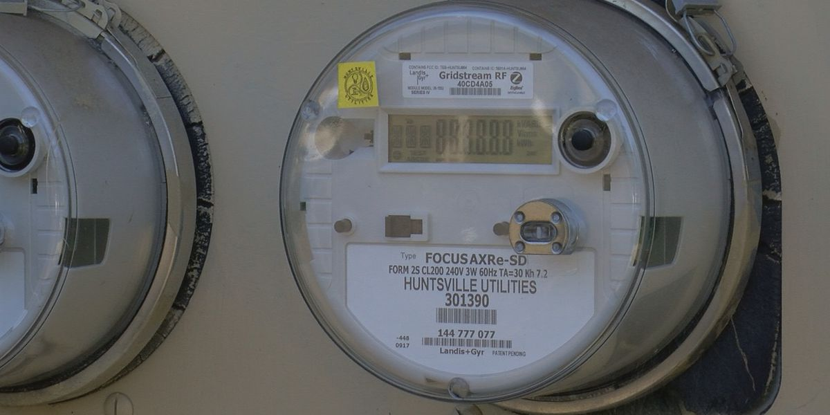 Huntsville Utilities installing smart meters outside every home in the city