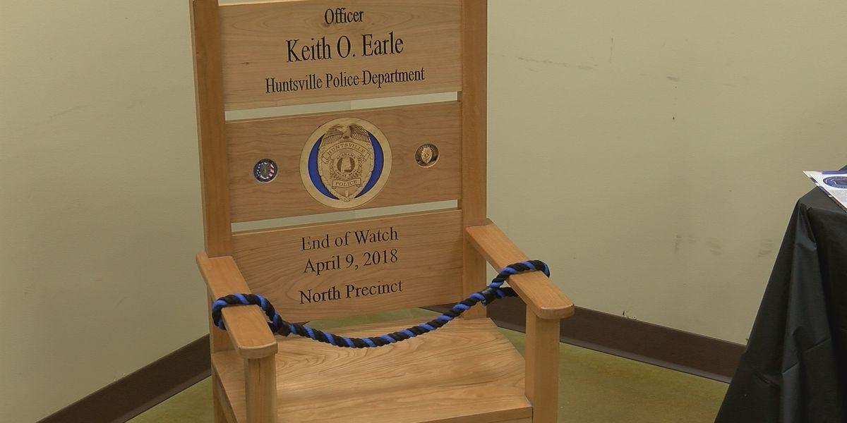 Fallen Huntsville police officer honored