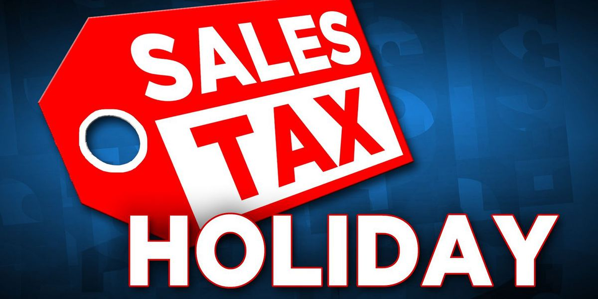 Back-to-school sales tax holiday this weekend