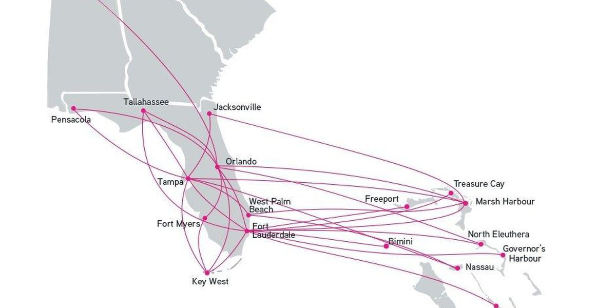 Get a $99 ticket from Huntsville to Orlando with new airline route