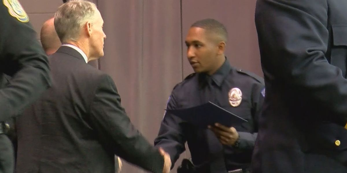 North Alabama welcomes new crop of police academy graduates