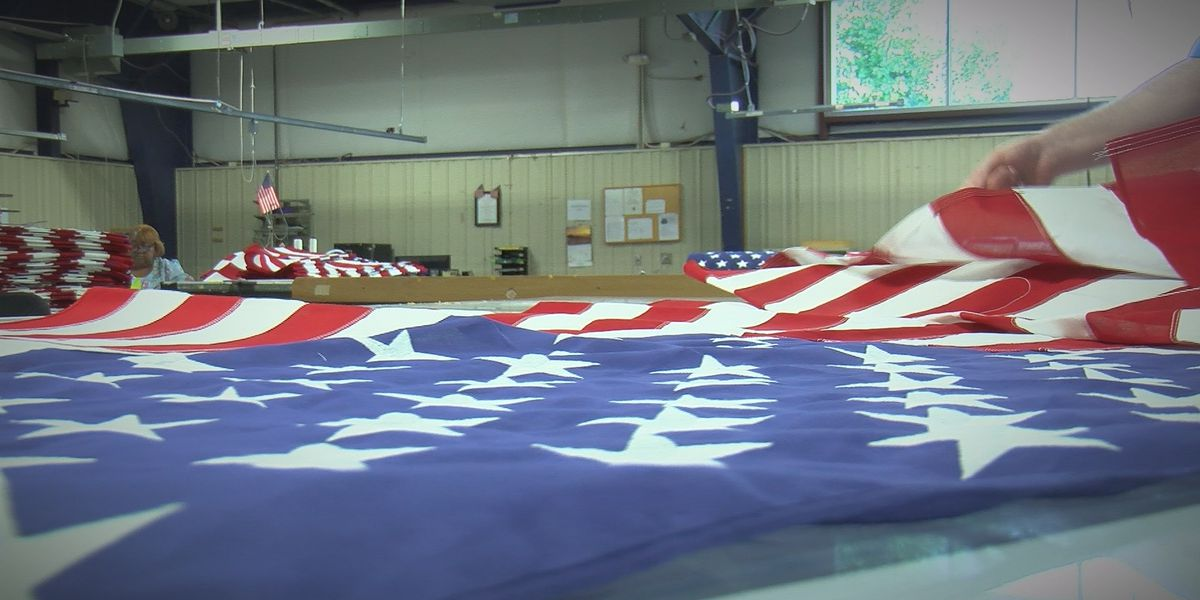 Dozens of disabled workers face layoffs after Huntsville flag manufacturer's federal contract ends