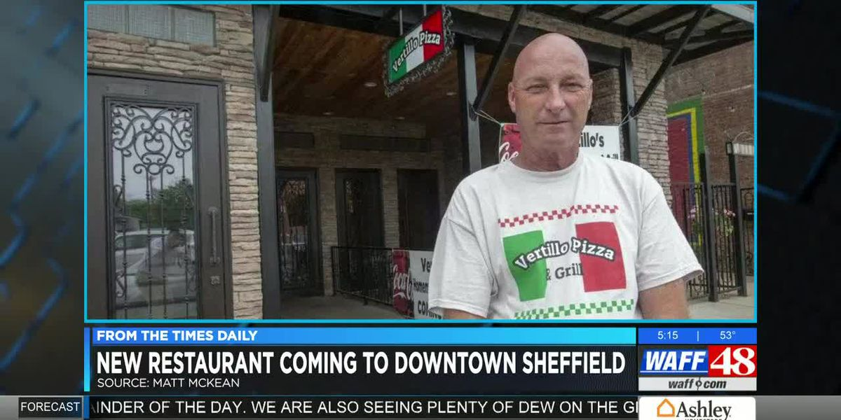 New pizzeria coming to downtown Sheffield