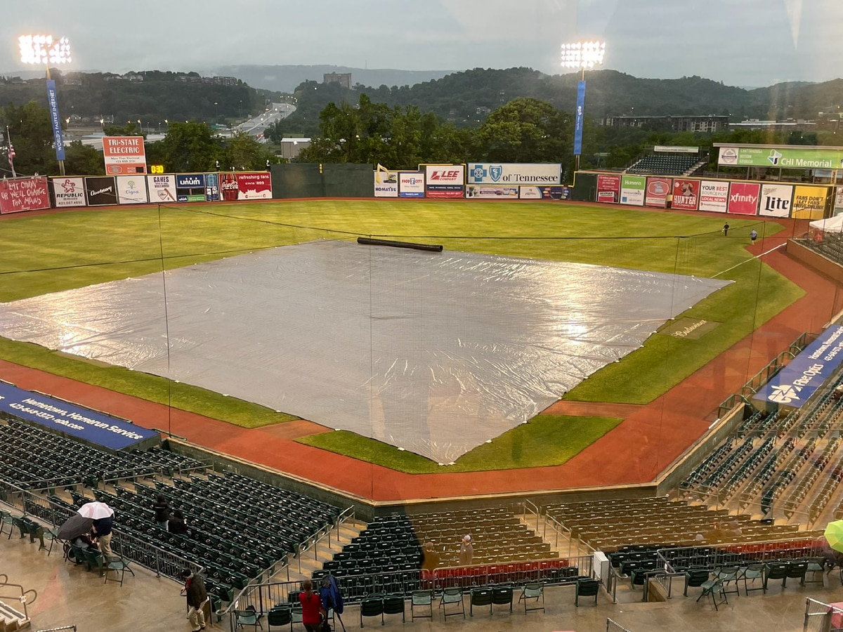 Trash Pandas first game postponed due to rain