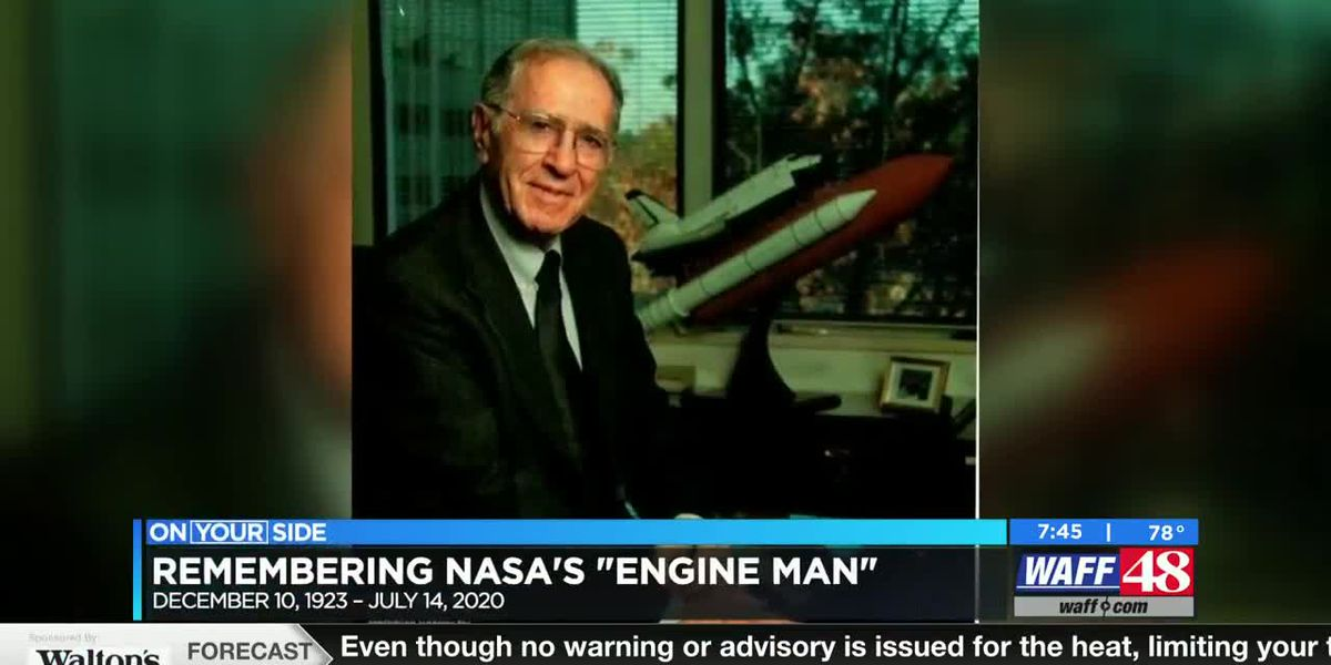 "Funeral today for NASA's ""Engine Man"" who helped put man on the moon"