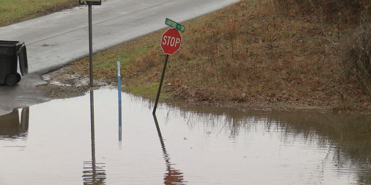 As many as 22 roads flooded in DeKalb County
