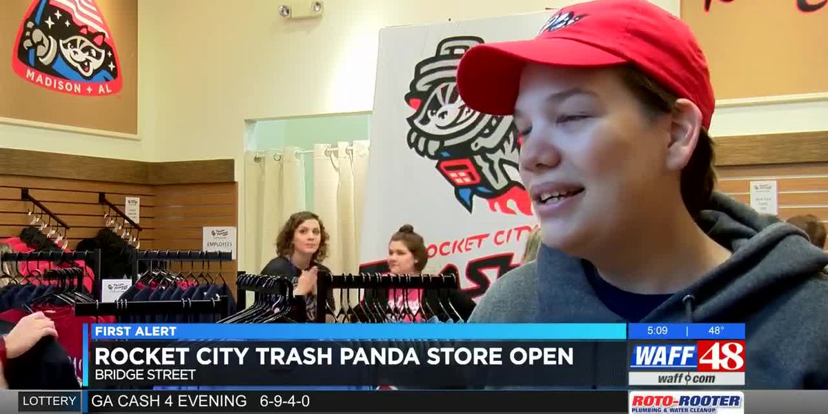 Trash Pandas store opens at Bridge Street